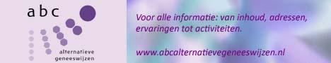 ABC Alternatieve geneeswijzen.   Voor alle informatie: van inhoud, adressen tot activiteiten