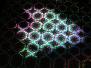 Lichtstructuur foto als illustratie bij blogpost over hoeveelheid van remedies bepalen