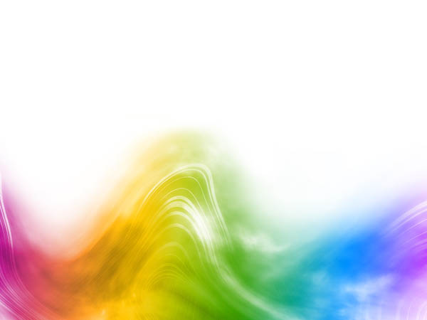 Afbeelding van kleurige golven als illustratie bij pagina over hoe edelsteenremedies werken